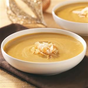 Curried Sweet Potato Soup Recipe