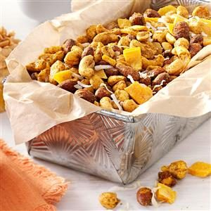Curried Tropical Nut Mix Recipe