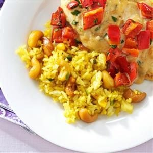 Curry Rice Pilaf Recipe