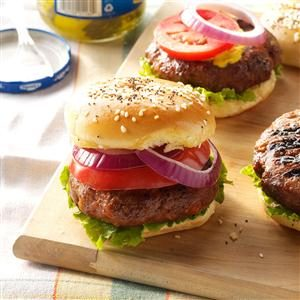 Dad's Cola Burgers Recipe