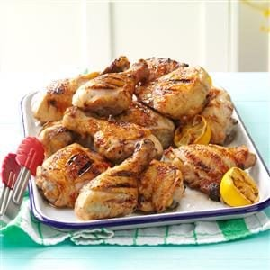 Dad's Lemony Grilled Chicken