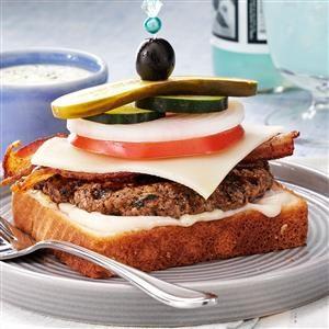 Dagwood Burgers Recipe