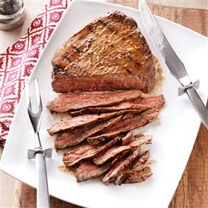 Dan's Peppery London Broil Recipe
