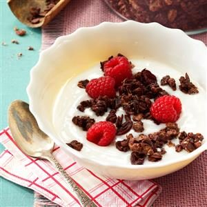 Decadent Dark Chocolate Granola Recipe