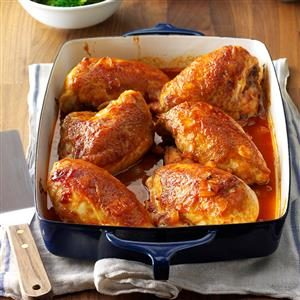 Delicious Oven Barbecued Chicken Recipe