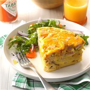 Denver Omelet Frittata Recipe