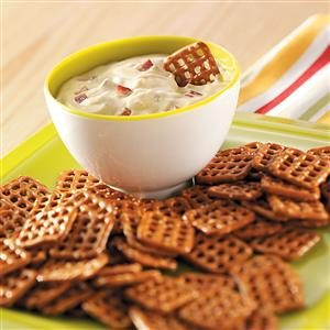 Dijon-Bacon Dip for Pretzels Recipe