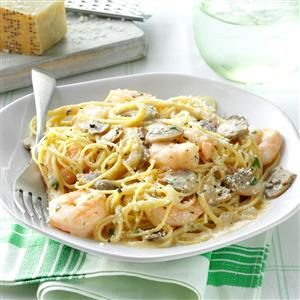 Dijon Shrimp with Pasta Recipe