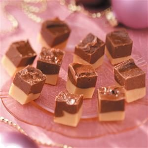 Double-Decker Fudge Recipe