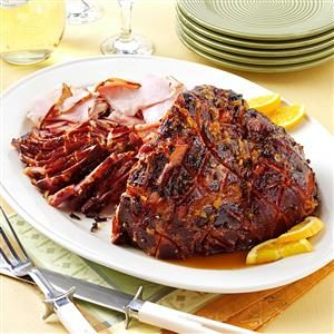 Double-Duty Heavenly Citrus Ham Recipe