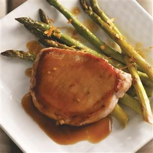 Down-Home Pork Chops for Two Recipe