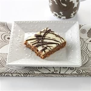 Drizzled Nanaimo Bars Recipe