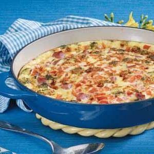 Early-Riser Oven Omelet Recipe