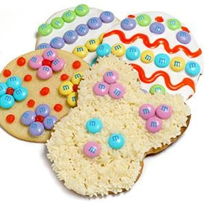 M&M'S® Easter Cookies