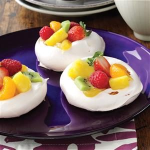 Easter Meringue Cups Recipe