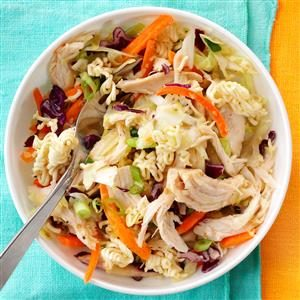 Easy Asian-Style Chicken Slaw Recipe