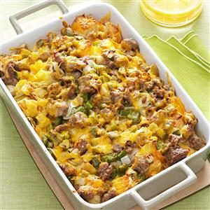 Easy Breakfast Strata