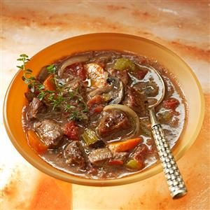 Easy Burgundy Stew
