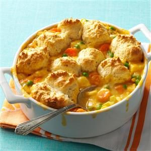 Easy Cheddar Chicken Potpie Recipe