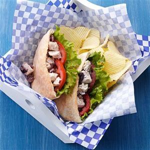 Easy Greek Chicken Sandwiches Recipe