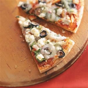 Easy Greek Pizza