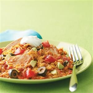 Easy Mexican Chicken and Rice