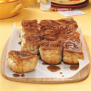 Easy Molasses Sticky Buns Recipe