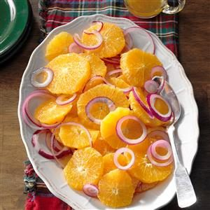 Easy Orange and Red Onion Salad Recipe