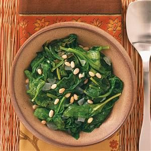 Easy Sauteed Spinach Recipe