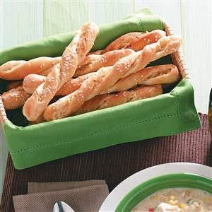 Easy Sesame Breadsticks Recipe
