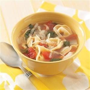 Easy Tortellini Soup Recipe