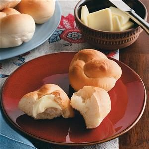 Easy Yeast Rolls Recipe