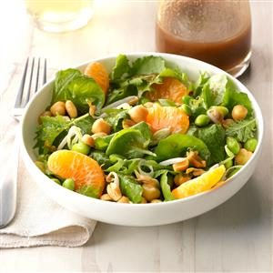 Edamame Salad with Sesame Ginger Dressing Recipe