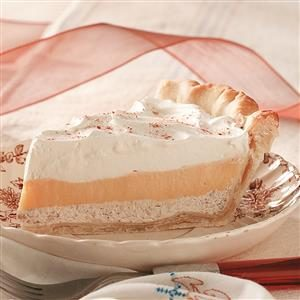 Eggnog Cream Pies Recipe