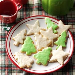 Eggnog Cutout Cookies Recipe