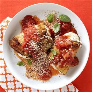 Eggplant & Zucchini Rollatini Recipe