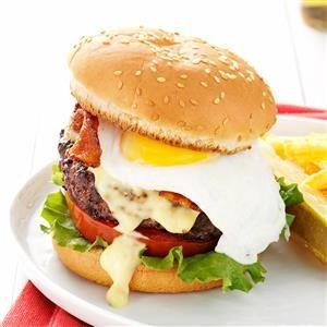 Eggs Benedict Burgers Recipe