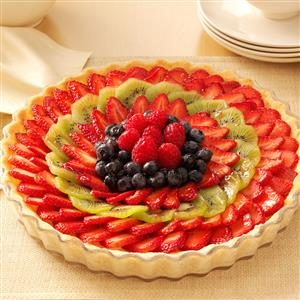 Elegant Fresh Berry Tart Recipe