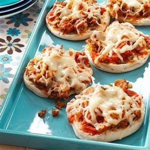 English Muffin Pizza Joes Recipe