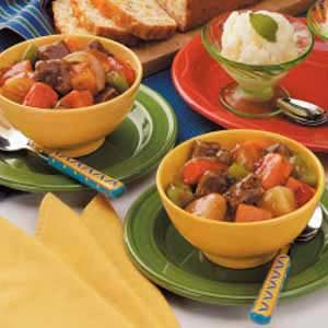 Baked Vegetable Beef Stew Recipe