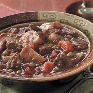 Chunky Baked Beef Stew Recipe