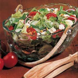 Potato Tossed Salad Recipe
