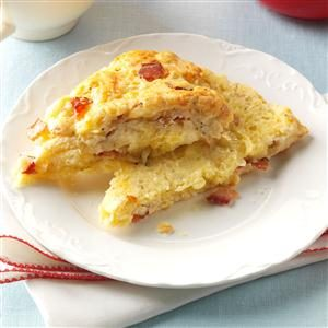 Peppered Bacon and Cheese Scones Recipe