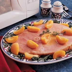 Ham with Apricots Recipe