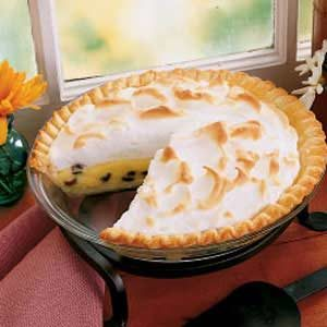 Raisin Custard Pie Recipe