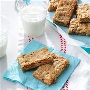 Cinnamon-Raisin Granola Bars Recipe