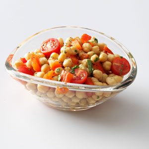 Colorful Garbanzo Bean Salad Recipe