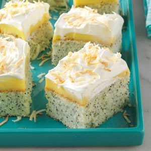 Coconut Poppy Seed Cake Recipe