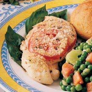 Tomato-Topped Chicken Recipe