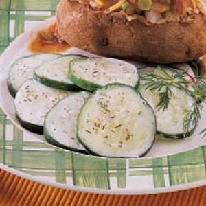 Cool-As-A-Cucumber Salad Recipe